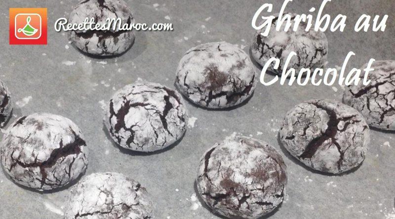 Recette : Ghriba au Chocolat