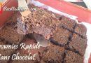 Recette : Brownies Rapide Sans Chocolat