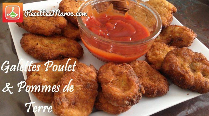 Recette : Galettes au Poulet & Pommes de Terre