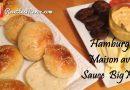 Recette : Pain Hamburger Maison et Sauce BIGMAC
