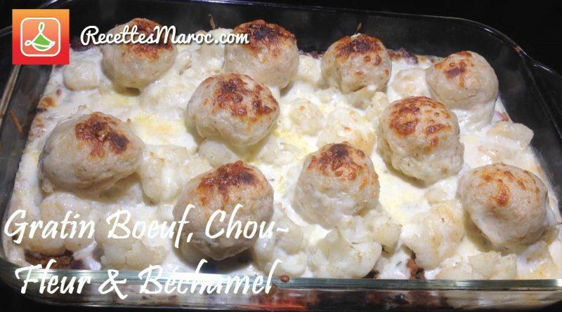 Recette : Gratin de Boeuf, Chou-Fleur & Pommes de Terre