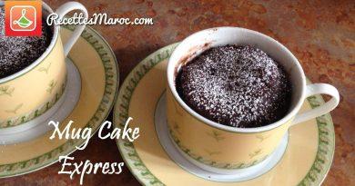 Recette : Mug Cake Express