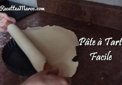 Recette : Pâte à Tarte Fait Maison