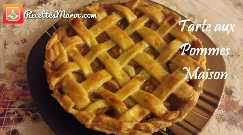 Recette : Tarte aux Pommes Maison