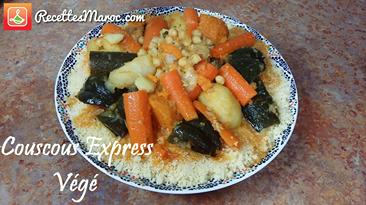 Recette : Couscous Express Végé