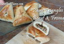 Recette : Pains Triangle au Boeuf & Fromage