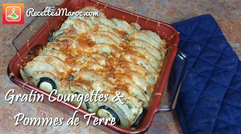 Recette : Gratin de Courgettes & Pommes de Terre